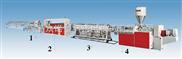 PE/PP/PC/PA/PMMA/PTFE/ABS塑料棒材生产线