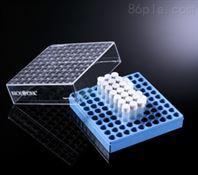 巴罗克biologix 1.0ml预置2D码冻存管(白色盖子)+2英寸蓝色冻存盒