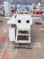 16-40pvc双管真空箱张家港市华德机械pvc一出二穿线管管材真空定径箱管材生产厂家