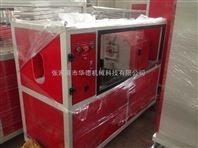 张家港市华德机械pe,pvc,ppr20-75无屑切割机塑料管材切割plc控制