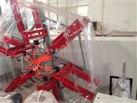 张家港市华德机械pe,ppr20-63单盘收卷机单工位收卷机自动收卷管