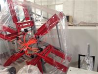 单工位收卷机张家港市华德机械pe,ppr20-63单盘收卷机单工位收卷机自动收卷管