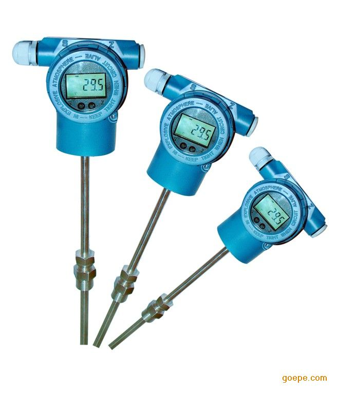 温度变送器的使用      1,不同型号温度变送器按说明书接线