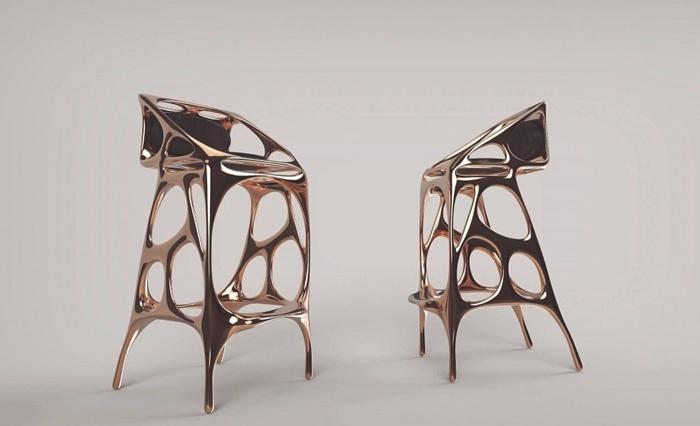 难以置信 这样精美绝伦的家具源于3D打印!